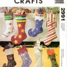 MCCALLS 2991 CRAFT CHRISTMAS STOCKINGS