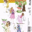 MCCALLS M5732 COSTUME PATTERN  - GIRLS FAIRY SZ 3-8
