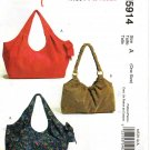 MCCALLS M5914 FASHION ACCESSORIES HOBO BAGS