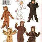 BUTTERICK 3238 CHILD'S, BOYS/GIRLS COSTUME SZ 2,3,4,5