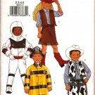 BUTTERICK 3244 CHILD'S, BOYS/GIRLS COSTUME SZ 2,3,4,5