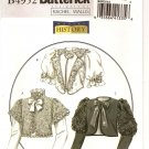 BUTTERICK B4952 MISSES' Victorian/Edwardian Jackets sz 6,8,10,12