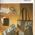BUTTERICK B5437 CRAFT, TOTE, CLUTCH, SHOULDER BAG AND WIRELESS READING DEVICE COVER