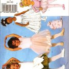 BUTTERICK B5545 CHILDREN'S AND GIRLS' LEOTARDS, SKIRT, BAG AND PONYTAIL HOLDER