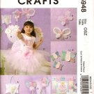 MCCALLS M5948 DOOR HANGER, PILLOW, MINI QUILT WALL HANGING, WAND, PURSE, SKIRT, BUTTERFLY & WINGS