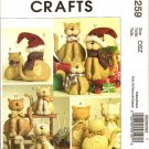 MCCALL'S M5259 CRAFT CAT FAMILY