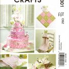 MCCALLS M6301 CRAFT PATTERN- BABY NURSERY ITEMS