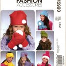 MCCALLS  M5993 CHILDREN'S & GIRL'S' HATS, SCARVES & MITTENS