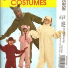 MCCALLS M5956 ADULT COSTUME - PIG, SHEEP & 2 OTHERS