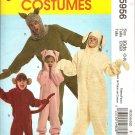 MCCALLS M5956 KIDS COSTUME - PIG, SHEEP & 2 OTHERS