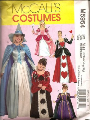 McCalls M5954 - CHILDREN'S AND GIRLS' STORYBOOK COSTUMES