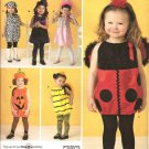 Simplicity 2304 Toddler Costume -  Lady Bug, Bee, Pumpkin, Dog, Witch or Princess Toddler