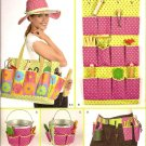 Simplicity 2632 Garden Accessories Tote, Caddy, Belt and Hat