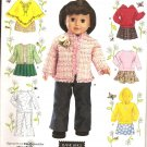 "Simplicity 4297 18"" Doll  Clothes Pattern"