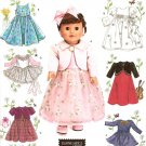"Simplicity 4364 Craft Pattern for 18"" Doll Clothes"