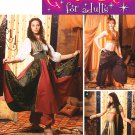 SIMPLICITY 5359 MISSES COSTUME- BELLY DANCER