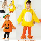 SIMPLICITY 2070 TODDLERS COSTUME- PUMPKIN AND CHICKEN