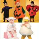 SIMPLICITY 2788 TODDLERS COSTUME- Toddler Lamb, Chick, Witch, Pumpkin and Ladybug Costumes