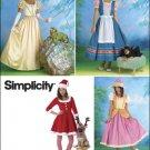 SIMPLICITY 2827 MISSES COSTUME- Misses & Dog Costumes