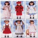 "BUTTERICK B5589 18"" (46cm) Doll Clothes"