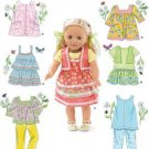 "SIMPLICITY 2296 18"" Doll Clothes"