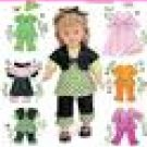 "SIMPLICITY 2458 18"" Doll Clothes"