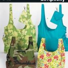 SIMPLICITY 2402 FASHION ACCESSORIES - Shopping totes