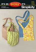 Simplicity 2335 FASHION ACCESSORIES -  It's So Easy Bags
