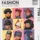 MCCALLS  FASHION ACCESSORIES 7768  KIDS' HATS