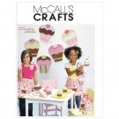 MCCALLS M6052 TREAT BAG, APRON, WALL DECORATION HEADBAND, PURSE, PIN & GIFT BOX IN 2 SIZES