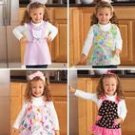SIMPLICITY 2699 CHILD'S APRONS SZ 1/2-1-2-3-4