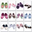 MCCALLS M6342 CRAFT PATTERN - BABY SHOES, BOOTS