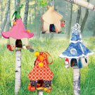 MCCALLS M6767  FASHION ACCESSORIES - FAIRY HOUSES