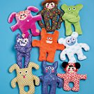 MCCALLS M5826 CREATE IT! WACKY CREATURES DOLLS