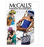 MCCALLS  M6577 MISSES' HATS & TOTES