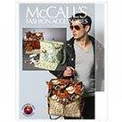 MCCALLS M6617 CRAFT PATTERN -Diaper Bags