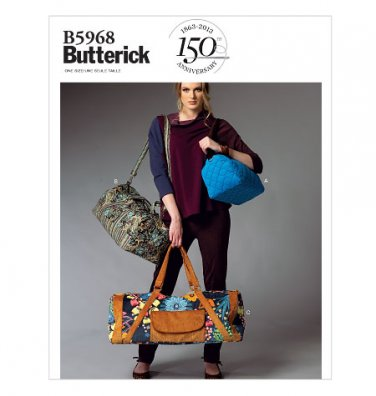 BUTTERICK B5968 SATCHEL IN 3 SIZES