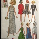 "Simplicity 1242 ""RETRO"" Fashion doll Clothes for 11 1/2"" doll"