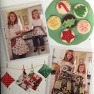 SIMPLICITY 2492 Child's & Misses' Aprons & Accessories & felt food