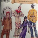Simplicity 5446 Misses'/Men's/Teen's Sizes XS - XL Native American Clothing