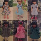 "SIMPLICITY S0668 18"" Doll Clothes"