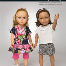 Simplicity 1193 Craft 18 inch  Doll Clothes-It's So Easy!