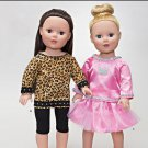 Simplicity 1274 Craft 18 inch  Doll Clothes-It's So Easy!