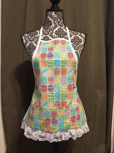 Easter Apron- Child's approximate size 3-6