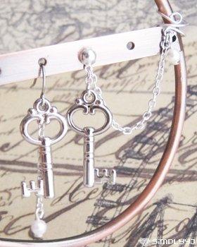 Keys Cuff Earring #204