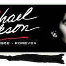 Michael Jackson Forever Bookmark