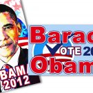 Obama 2012 Mini Magnets Set of 2