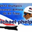 Michael Phelps 2012 Olympics Bookmark