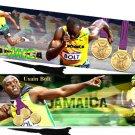 Usain Bolt Olympics Bookmark (Set of 2)