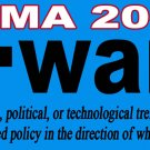 Obama Forward 2012 Bookmark